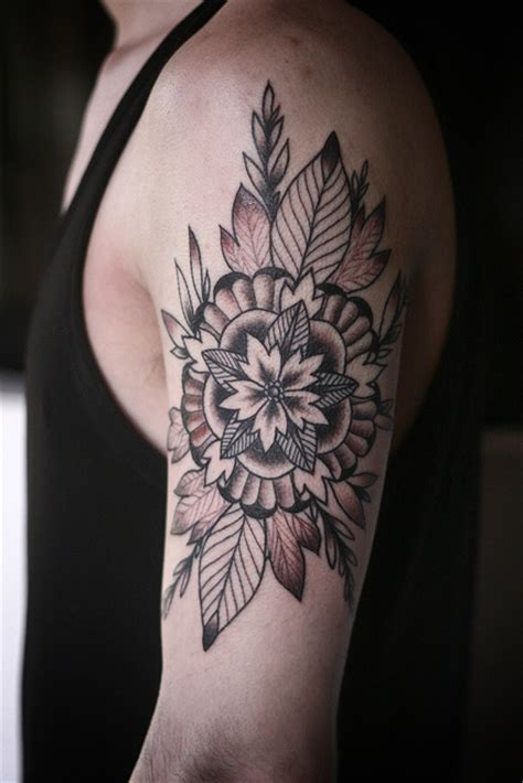 geometric tattoo portland geometric flower mandala thing by alice carrier at