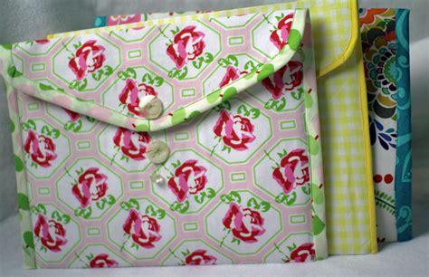 how to make fabric folders crafty gemini