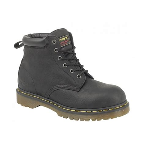 Kickers Dr St dr martens forge st mens leather safety boots black buy