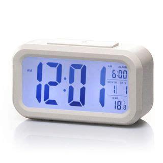 sharp led light alarm clock sharp spc384d atomic lcd backlight bedside alarm clock