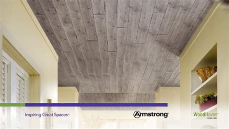 armstrong ceiling planks woodhaven woodhaven collection wood wood tone 5 quot x 84 quot plank 1273 by armstrong