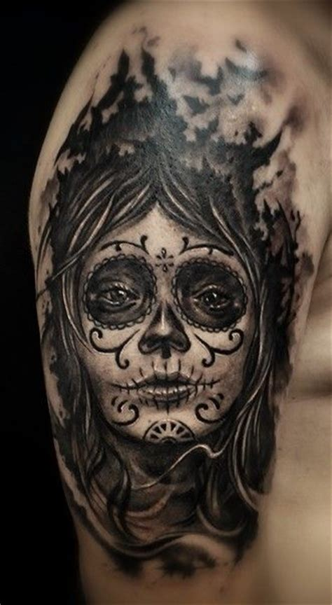 santa muerte tattoo 112 best images about muerte tattoos on sugar