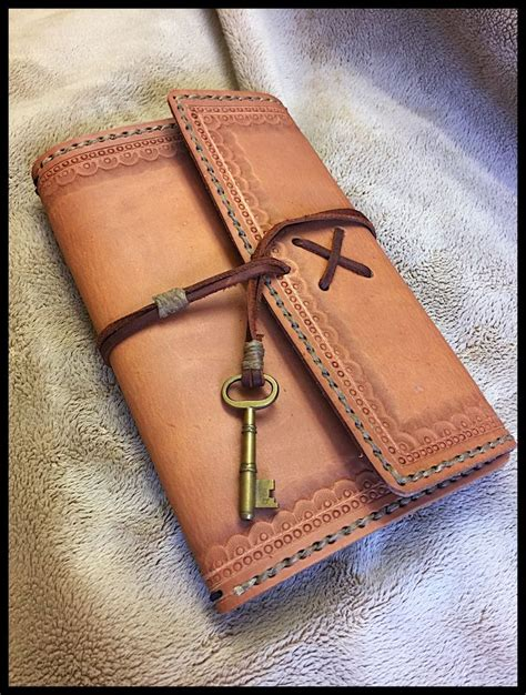 How To Make A Handmade Leather Journal - handmade leather journal tutorial 28 images how to