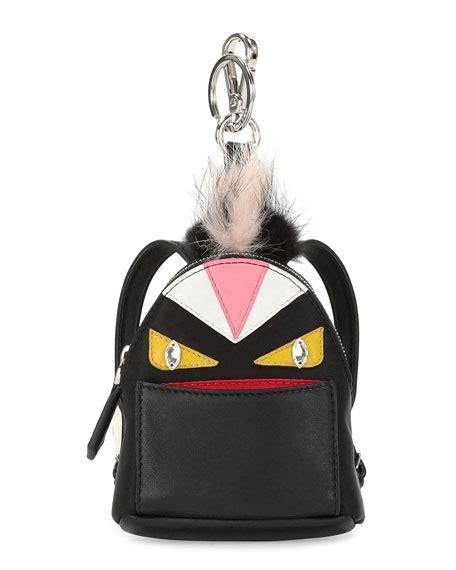 Fendi Handbag Charm by Fendi Mini Backpack Charm For Handbag Black Multi