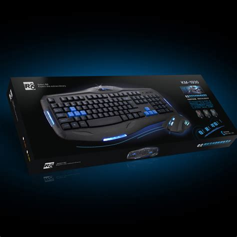 R8 1822 Gaming Keyboard Black 1 r8 gaming keyboard and mouse 2014 quality product view