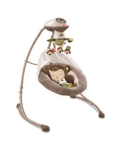 fisher price swing monkey swings back and forth side to side and seat detaches and