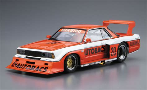nissan bluebird model 1 24 scale nissan bluebird autobacs turbo silhouette model