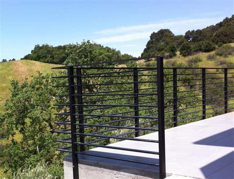 Flat Metal Deck Balusters Aluminum Flat Bar Railing 2 Deck Rail