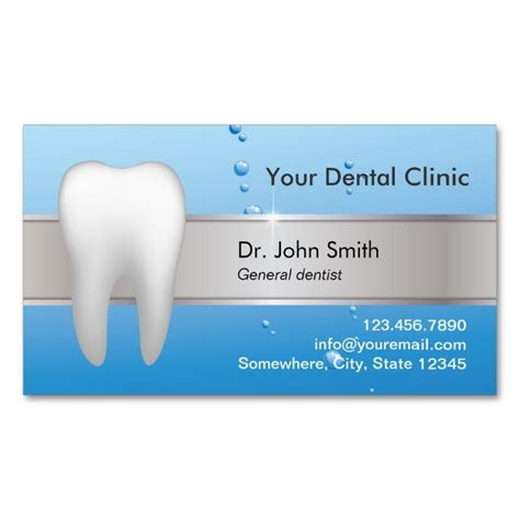 Dental Appointment Card Business Card Template by 2017 Best Dental Dentist Business Cards Images On