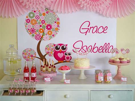 owl baby shower decoration owl baby shower ideas photo 2 of 13 catch my