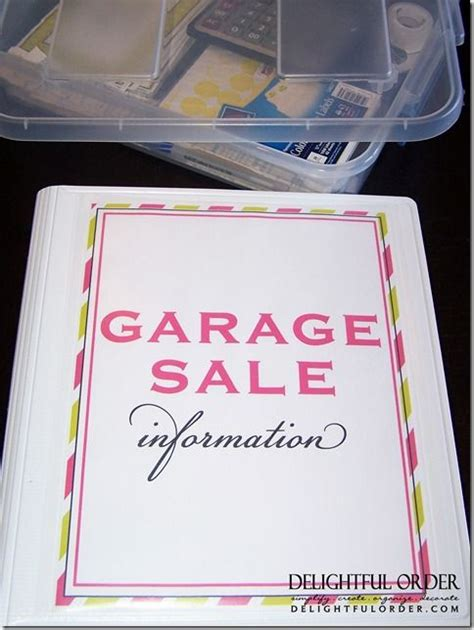 Best Way To Organize A Garage Sale by 25 Best Ideas About Garage Sale Organization On