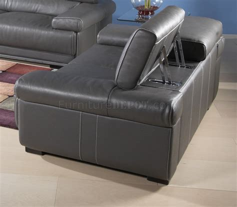 charcoal grey couch charcoal grey leatherette modern sofa w optional items