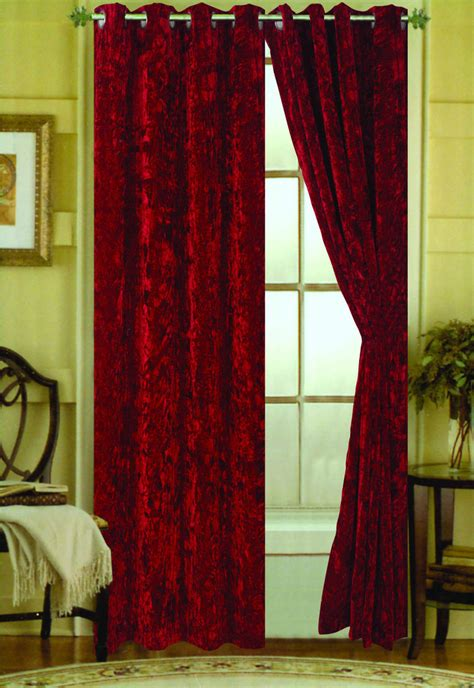 curtains velvet crushed velvet curtains furniture ideas deltaangelgroup
