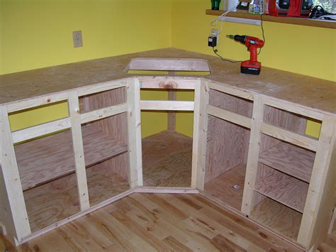 Making A Kitchen Cabinet | how to build kitchen cabinet frame kitchen reno