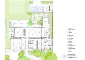 Courtyard Home Floor Plans gallery of concrete house matt gibson architecture 21