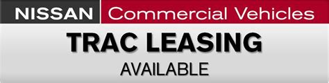 Cherry Hill Nissan Coupons Commercial Vehicle Leasing Cherry Hill Nissan Nmac Trac