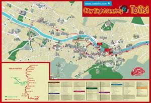 map of tbilisi map citysightseeing tbilisi picture of city sightseeing