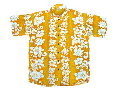hawaiin shirt hawaii hawai shirt yellow flower series