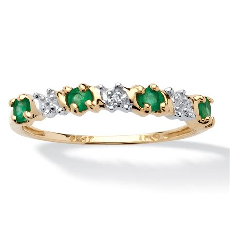 32 tcw genuine emerald and accent 10k gold