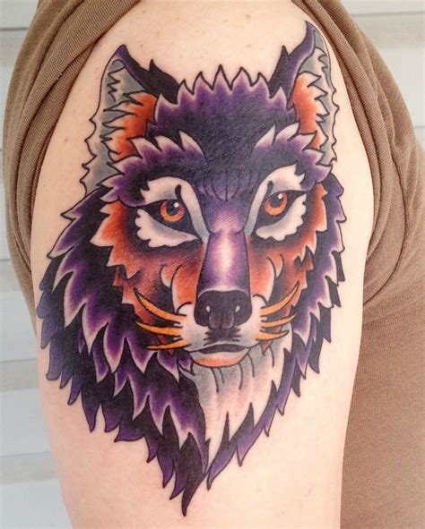 traditional wolf tattoo wolf tattoos designs ideas and meaning tattoos for you