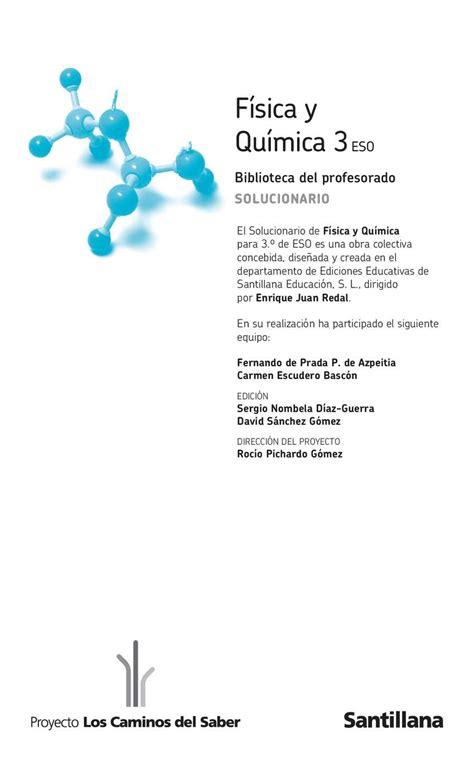 fisica y quimica 3eso savia calam 233 o fisica y quimica