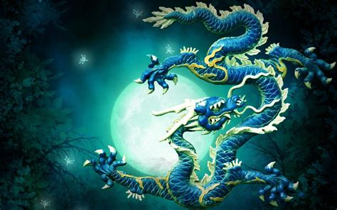 wallpaper blue china chinese dragon wallpapers wallpaper cave