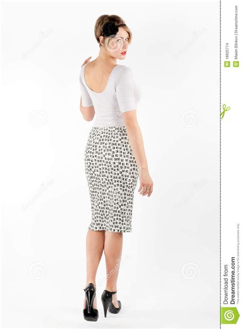 Ladies Back Side Images | back side view of a woman stock photo image of casual