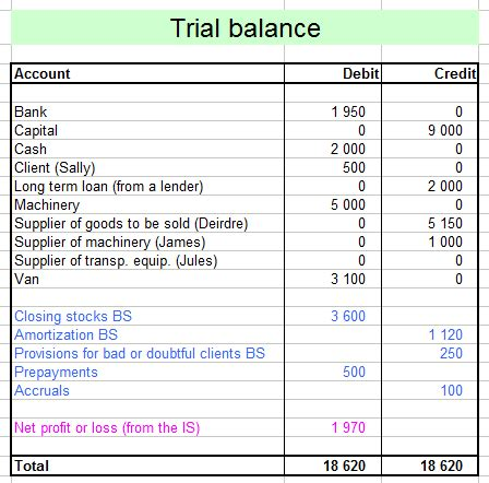 Gamis Anesa Ori Ayn Supplier from trial balance to income statement