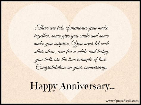 Wedding Anniversary Quotes To Parents From by Happy Anniversary Quotes For Parents In Happy