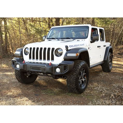 jeep front jeep wrangler jl spartacus front bumper rugged ridge 11544 21
