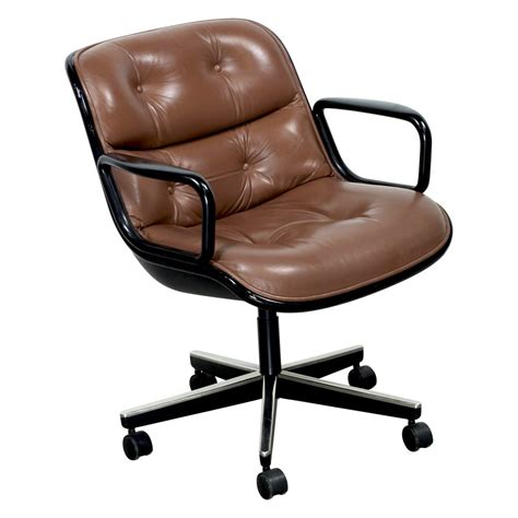 Knoll Pollock Chair by Knoll Pollock Executive Leather Used Chair National
