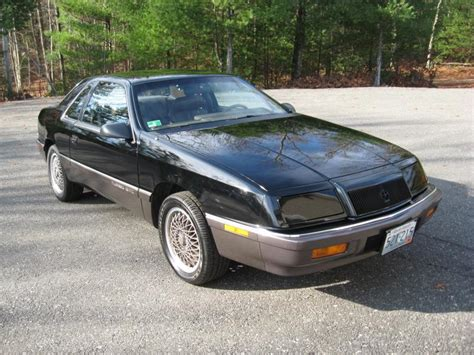 Chrysler Lebaron Gtc by 1989 Chrysler Lebaron Gtc T2 5 Spd 4500 Obo Turbo