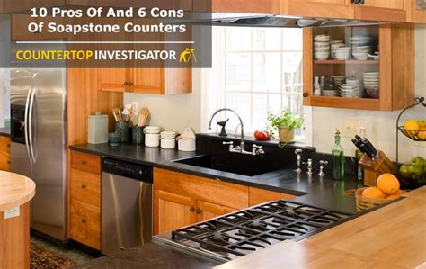 Pros And Cons Of Countertops by Soapstone Countertops These Benefits Will Impress You