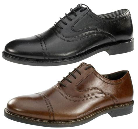 mens oxford lace up shoes redtape willow mens leather oxford lace up formal shoes
