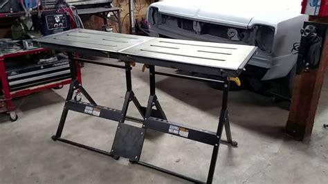 harbor freight welding table harbor frieght welding tables shop update