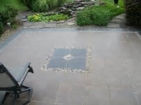 patio tiles concrete h winter showroom diy outdoor patio oasis