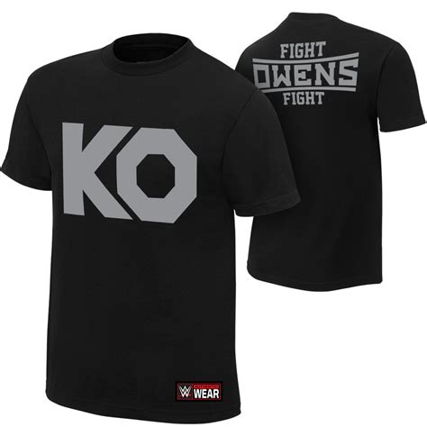 Ko T Shirt kevin owens quot ko fight quot authentic t shirt us