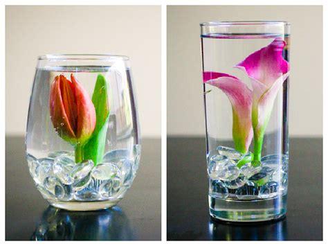 DIY Submerged Flower Arrangements