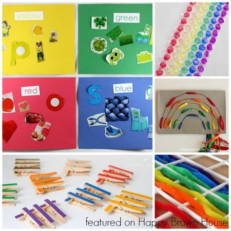 Color Sort Busy Activity For Children 365 Days Of Crafts - top 10 rainbow busy bags for preschoolers happy brown house