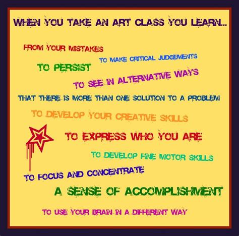 arts education why is it important arts to grow art education importance quotes quotesgram