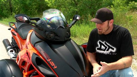 Motorcycle Review: Can Am Spyder RSS   YouTube