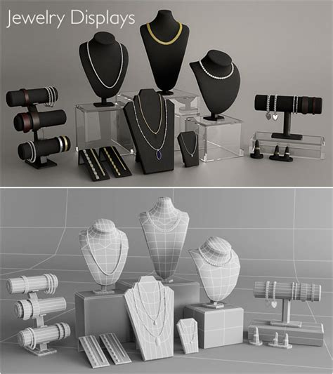Jewelry Displays by tml96a   3DOcean