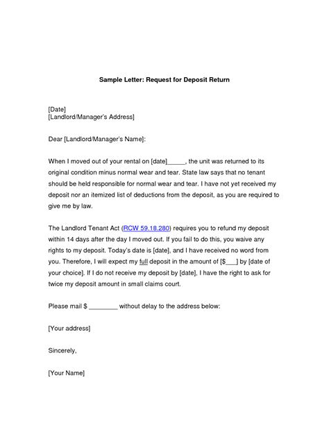 Mba Project Request Letter To A Company by Refund Request Letter For Overpayment Archives Sle Letter