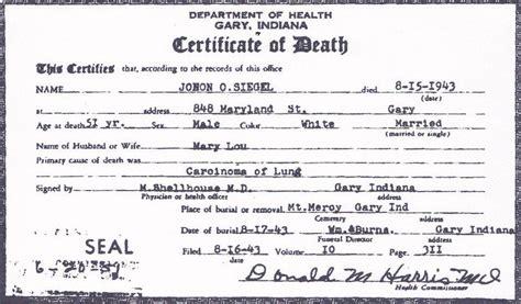 file death certificate of john otto siegel front view jpg