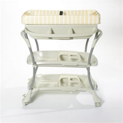 baby bath recliner primo eurospa bath and changing center honey cream