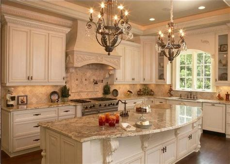 Country Style Kitchen Prices stunning country kitchen br 251 l 233 e granite slab with 4x4 tumbled bottocino marble