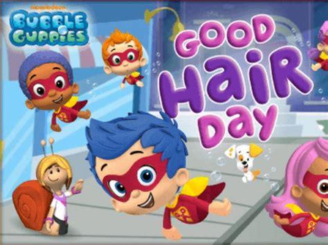 bubble guppies haircut game bubble guppies good hair day bubble guppies nickelodeon