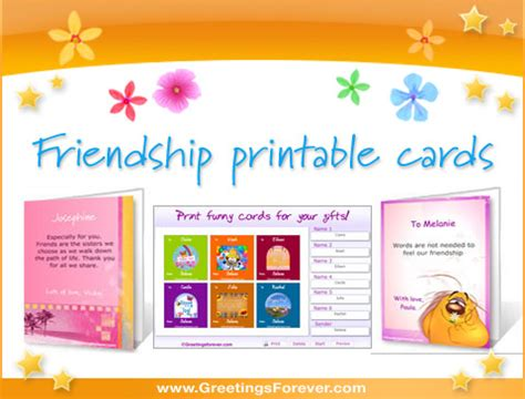 how to make friendship cards at home print at home greeting cards wblqual