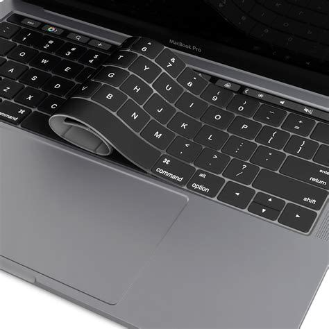 Macbook Pro Touch Bar keyboard protector cover apple macbook pro touch bar black