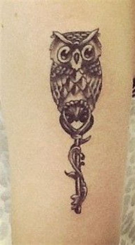 owl tattoo with key meaning tattoos i like on pinterest by michelle corbaley key